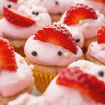 Erdbeercupcakes